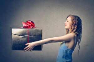 Cadeautje aanpakken!